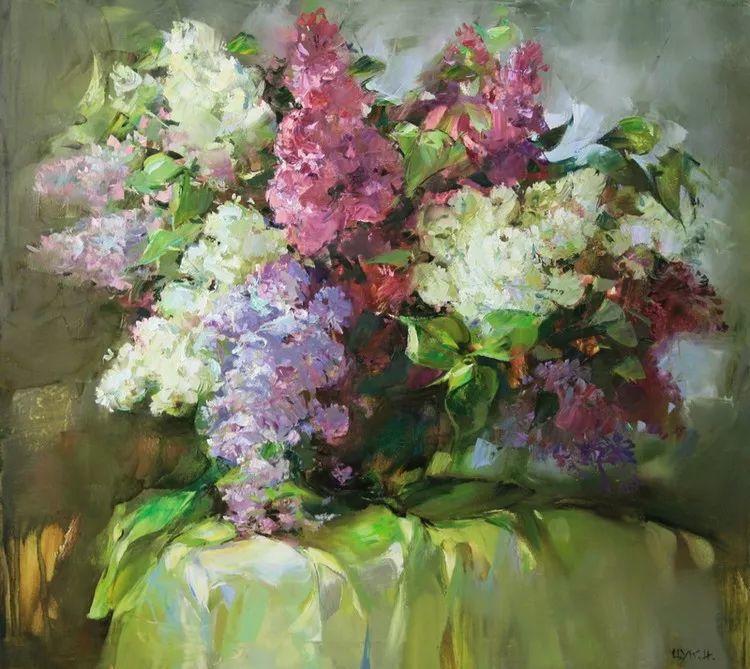 绽放的色彩 俄罗斯女画家Inna Tsukakhina插图67