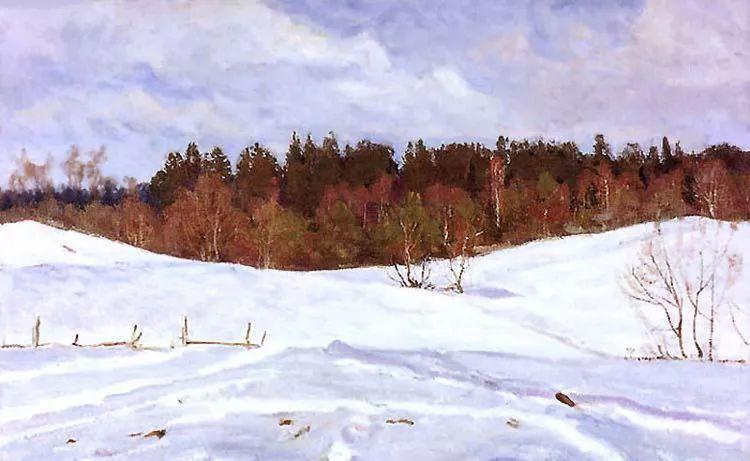 马伏斯基·伊万洛维奇的风景画插图15