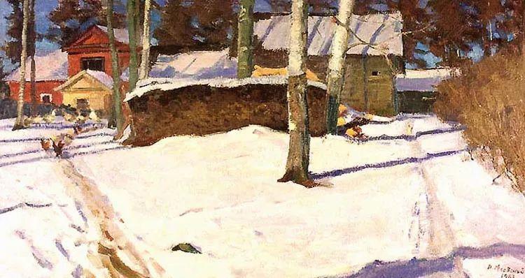 马伏斯基·伊万洛维奇的风景画插图17