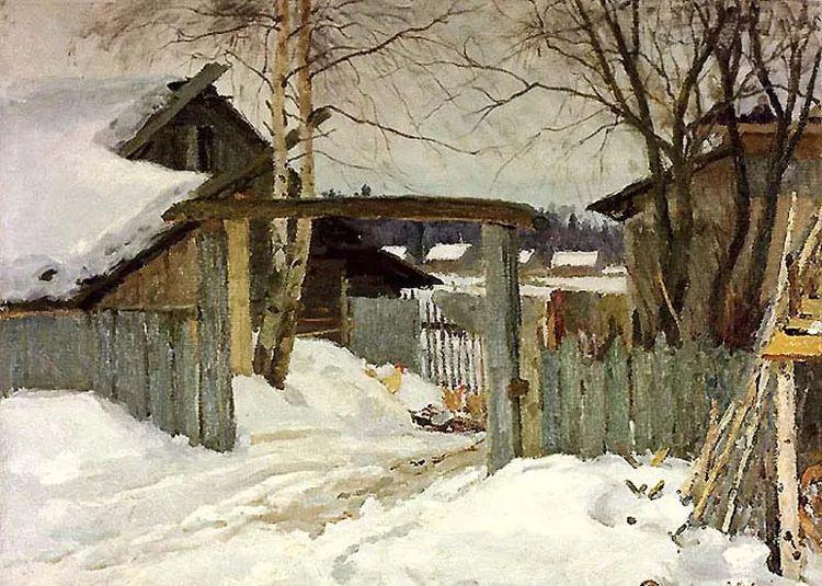 马伏斯基·伊万洛维奇的风景画插图25