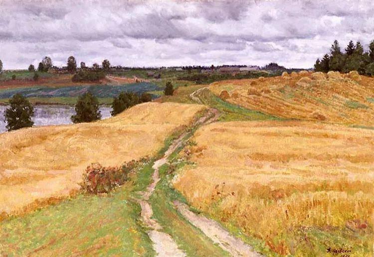 马伏斯基·伊万洛维奇的风景画插图33
