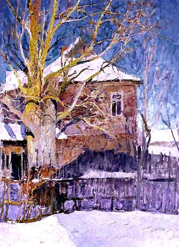 马伏斯基·伊万洛维奇的风景画插图47
