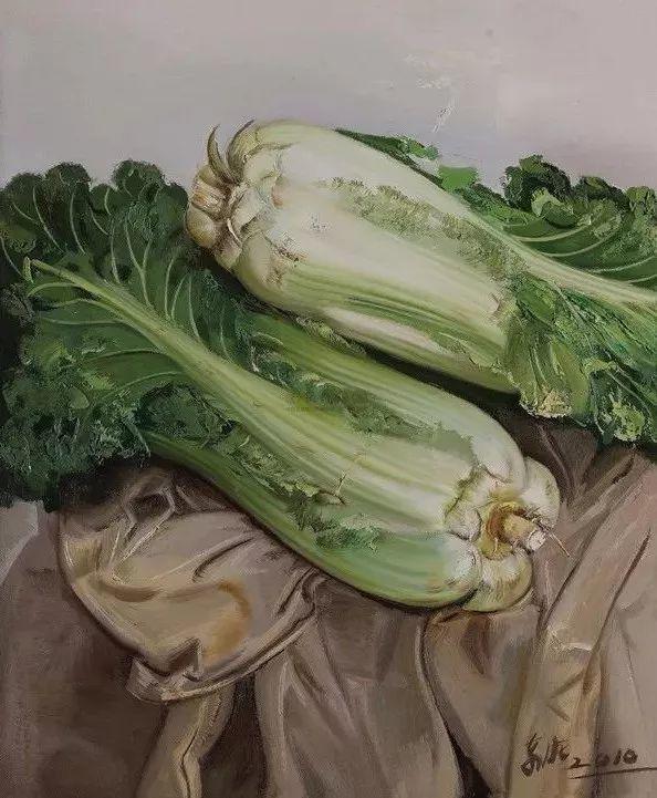从民间画匠到美院教授,他专注画白菜、农民,传奇一生值得品味!插图3