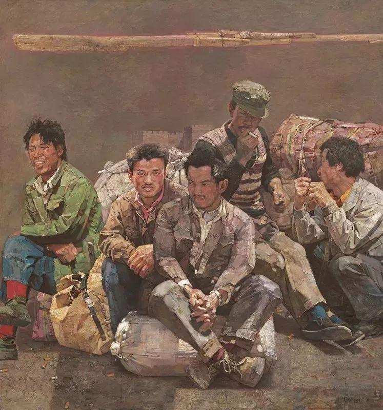 从民间画匠到美院教授,他专注画白菜、农民,传奇一生值得品味!插图27