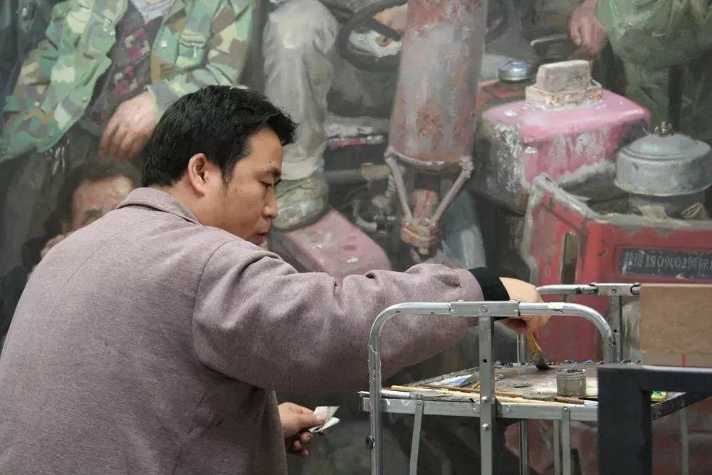 从民间画匠到美院教授,他专注画白菜、农民,传奇一生值得品味!插图33