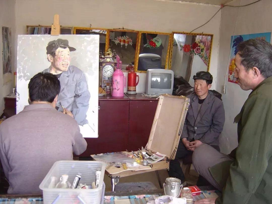 从民间画匠到美院教授,他专注画白菜、农民,传奇一生值得品味!插图39