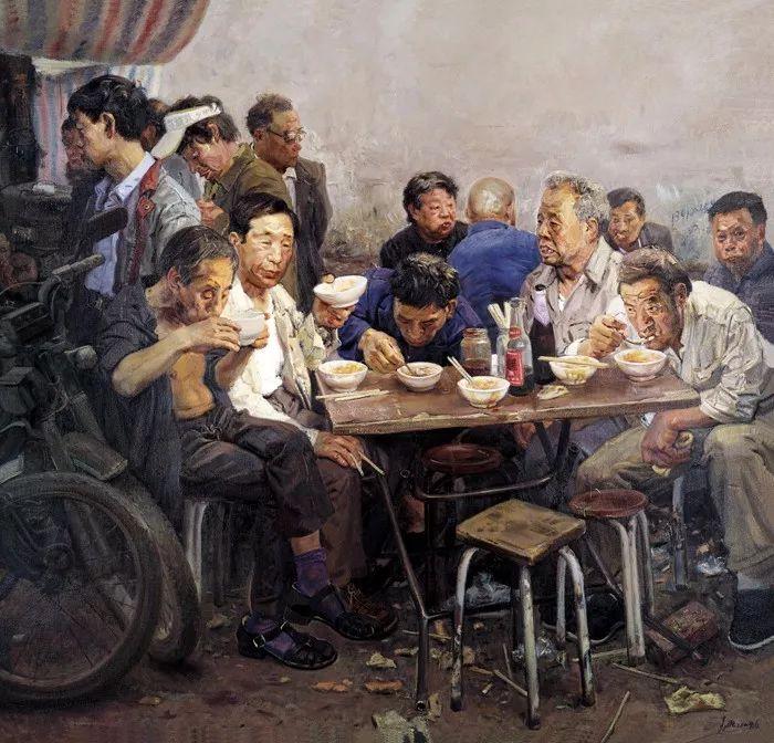 从民间画匠到美院教授,他专注画白菜、农民,传奇一生值得品味!插图49