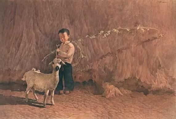 从民间画匠到美院教授,他专注画白菜、农民,传奇一生值得品味!插图67