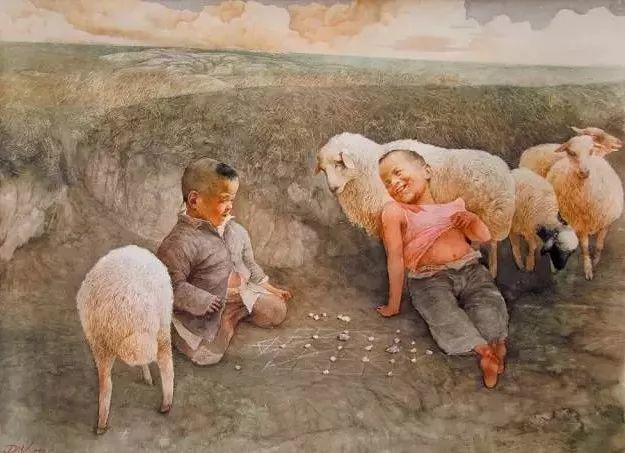 从民间画匠到美院教授,他专注画白菜、农民,传奇一生值得品味!插图69