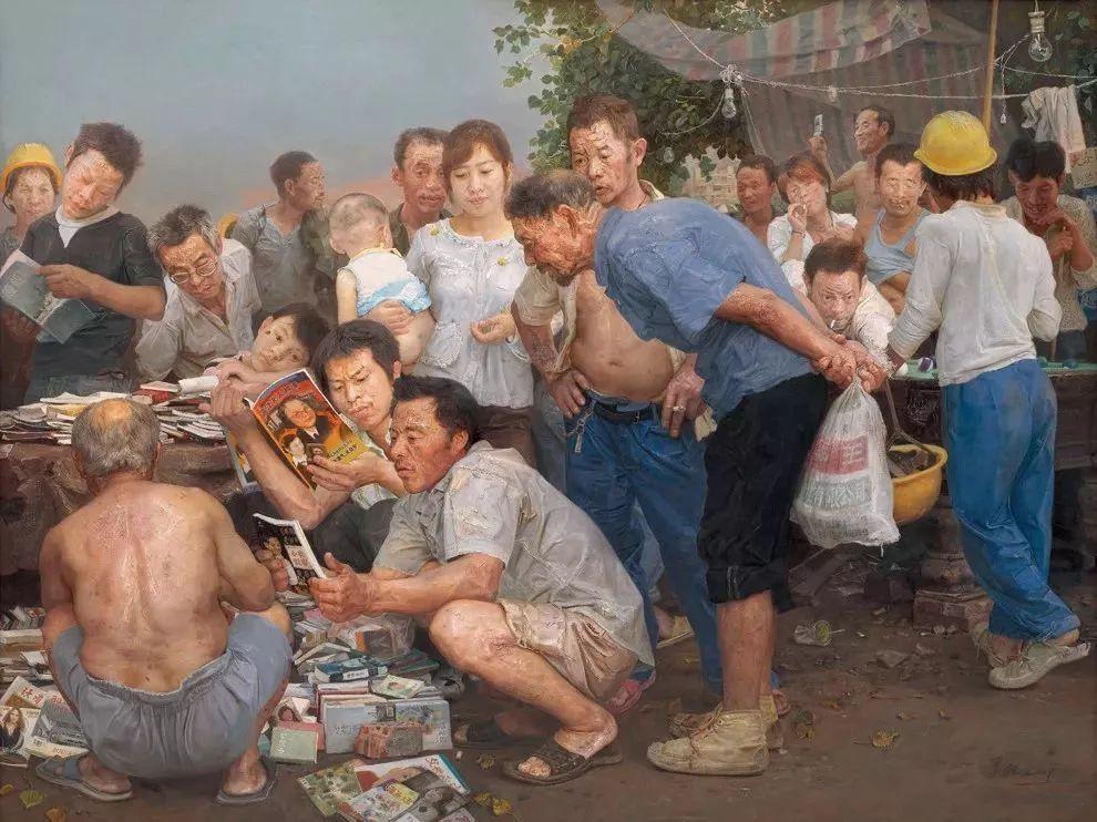 从民间画匠到美院教授,他专注画白菜、农民,传奇一生值得品味!插图73