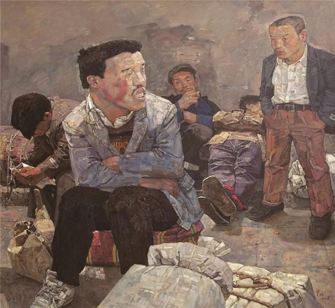 从民间画匠到美院教授,他专注画白菜、农民,传奇一生值得品味!插图77