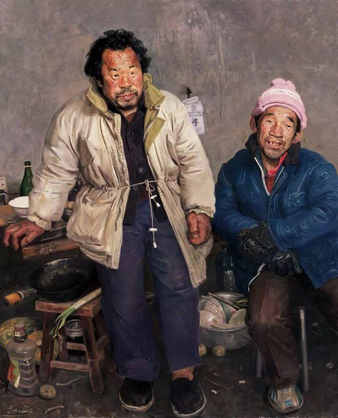 从民间画匠到美院教授,他专注画白菜、农民,传奇一生值得品味!插图83
