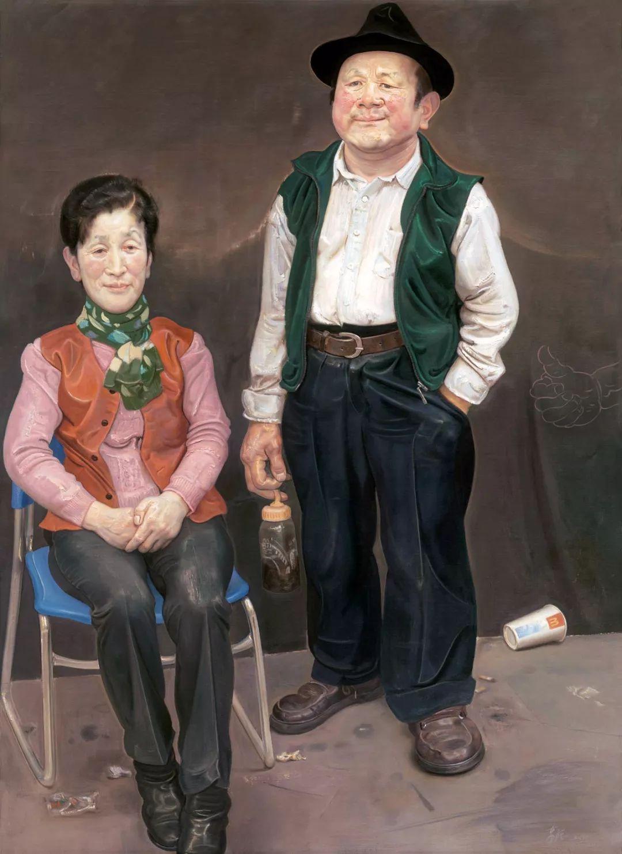从民间画匠到美院教授,他专注画白菜、农民,传奇一生值得品味!插图87