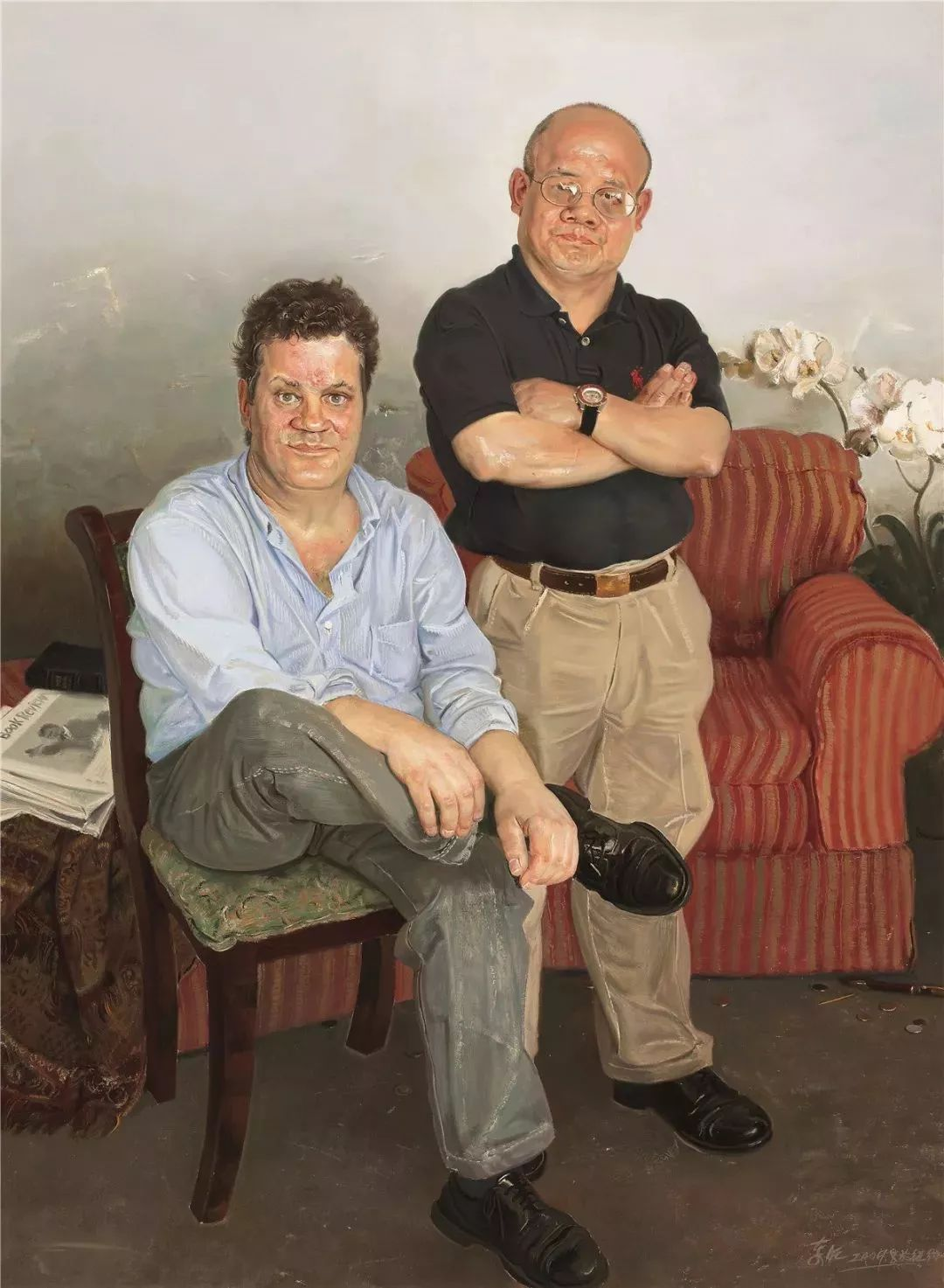 从民间画匠到美院教授,他专注画白菜、农民,传奇一生值得品味!插图89