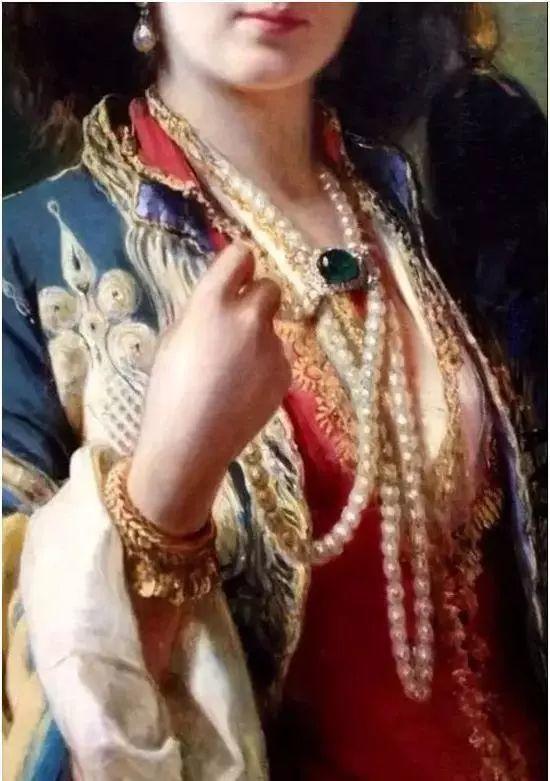 美不胜收!欧洲宫廷油画里美得惊艳的奢华珠宝插图3