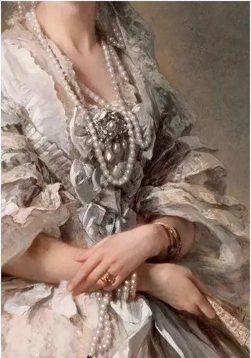 美不胜收!欧洲宫廷油画里美得惊艳的奢华珠宝插图5