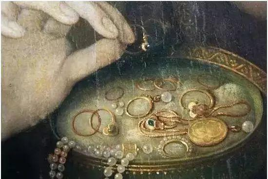 美不胜收!欧洲宫廷油画里美得惊艳的奢华珠宝插图27