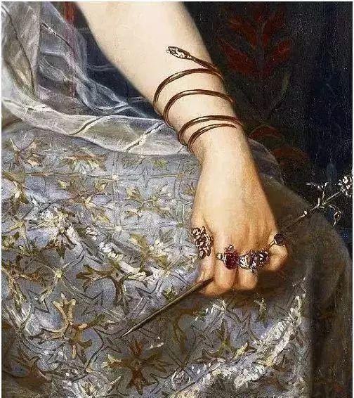 美不胜收!欧洲宫廷油画里美得惊艳的奢华珠宝插图39