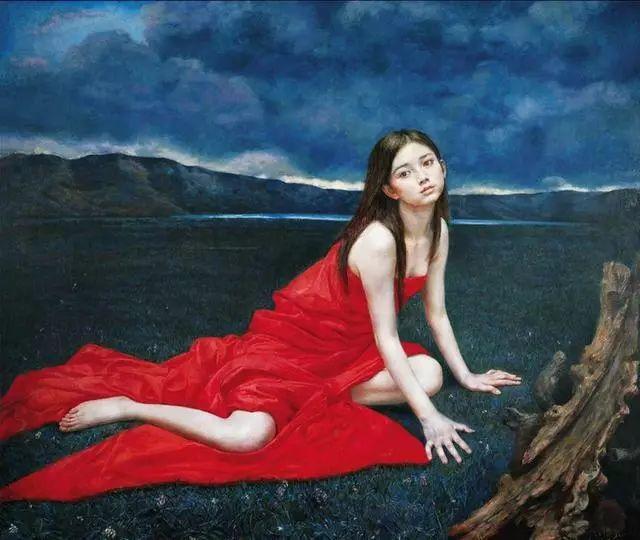 他的作品细腻而感人,画中的女孩充满着古典气质插图35