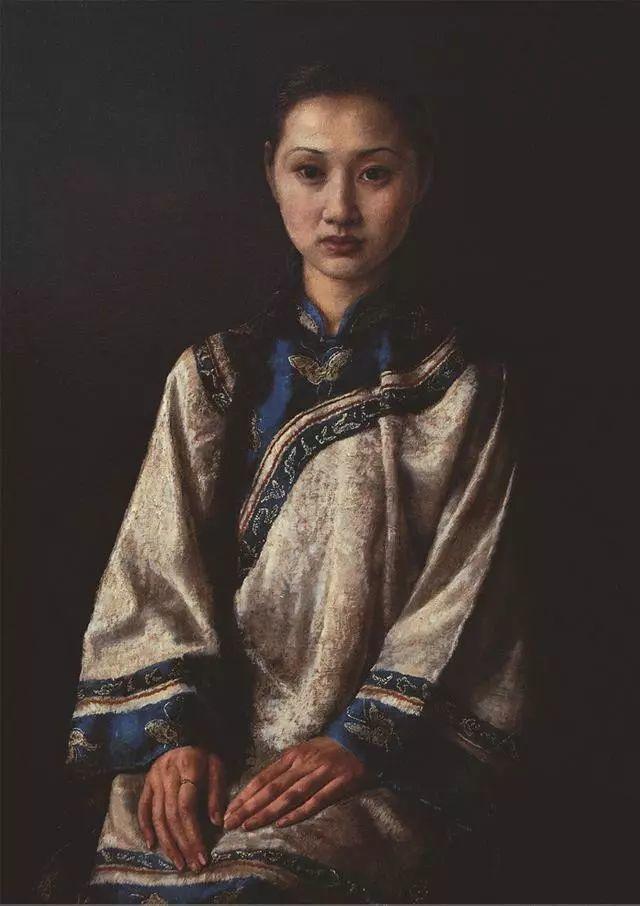 他的作品细腻而感人,画中的女孩充满着古典气质插图37