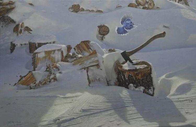 完美主义 加拿大画家Brian lasaga丙稀酸绘画插图18
