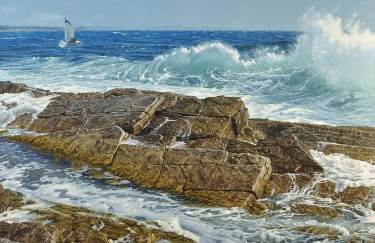 完美主义 加拿大画家Brian lasaga丙稀酸绘画插图22