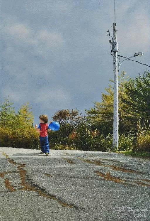 完美主义 加拿大画家Brian lasaga丙稀酸绘画插图25