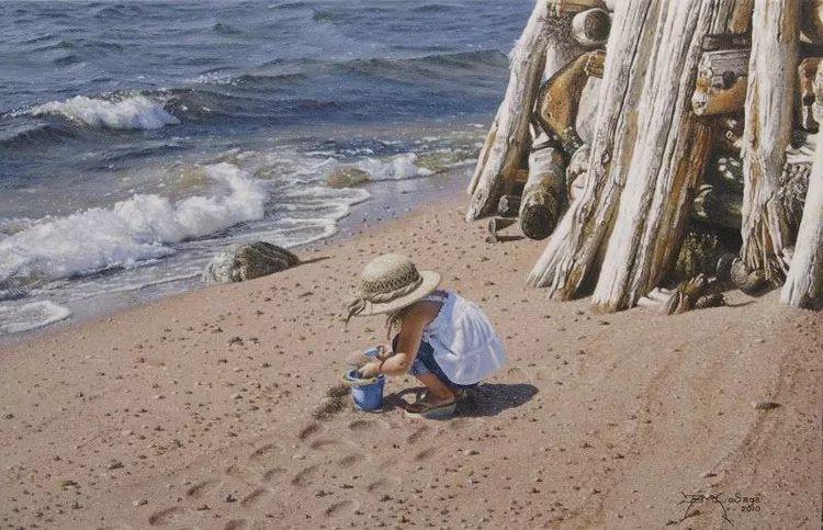 完美主义 加拿大画家Brian lasaga丙稀酸绘画插图29