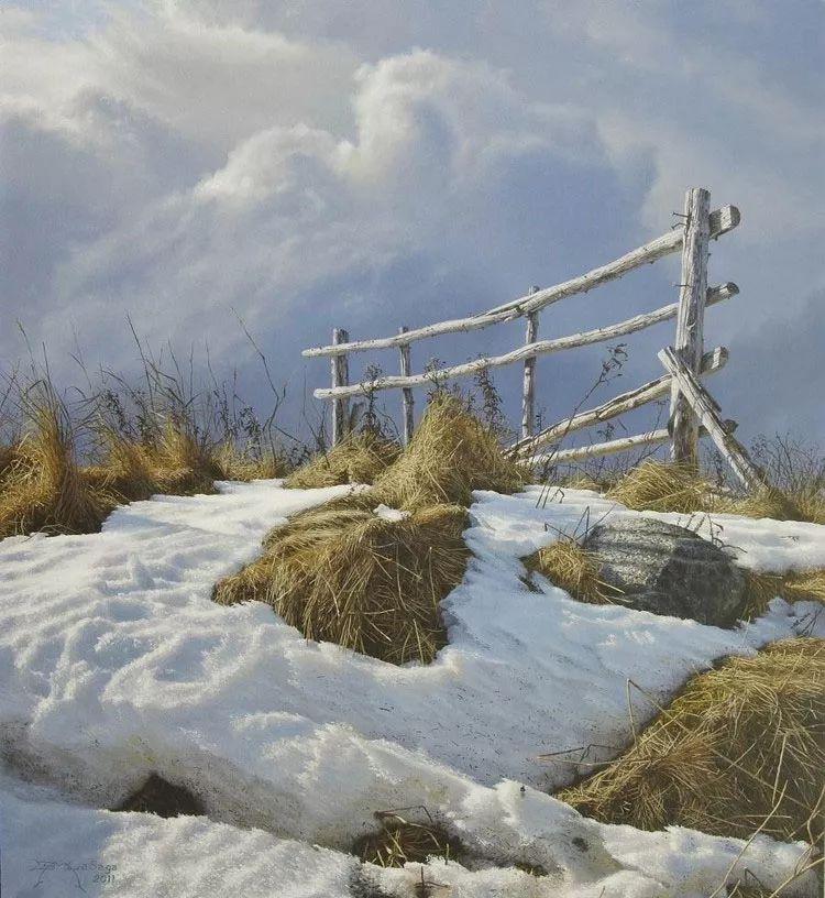 完美主义 加拿大画家Brian lasaga丙稀酸绘画插图32