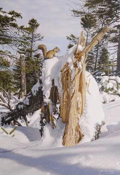 完美主义 加拿大画家Brian lasaga丙稀酸绘画插图35