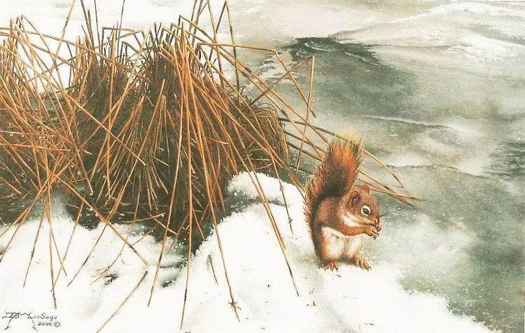 完美主义 加拿大画家Brian lasaga丙稀酸绘画插图38