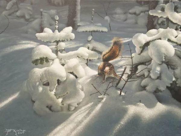 完美主义 加拿大画家Brian lasaga丙稀酸绘画插图43