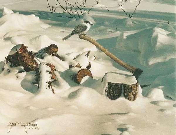 完美主义 加拿大画家Brian lasaga丙稀酸绘画插图53