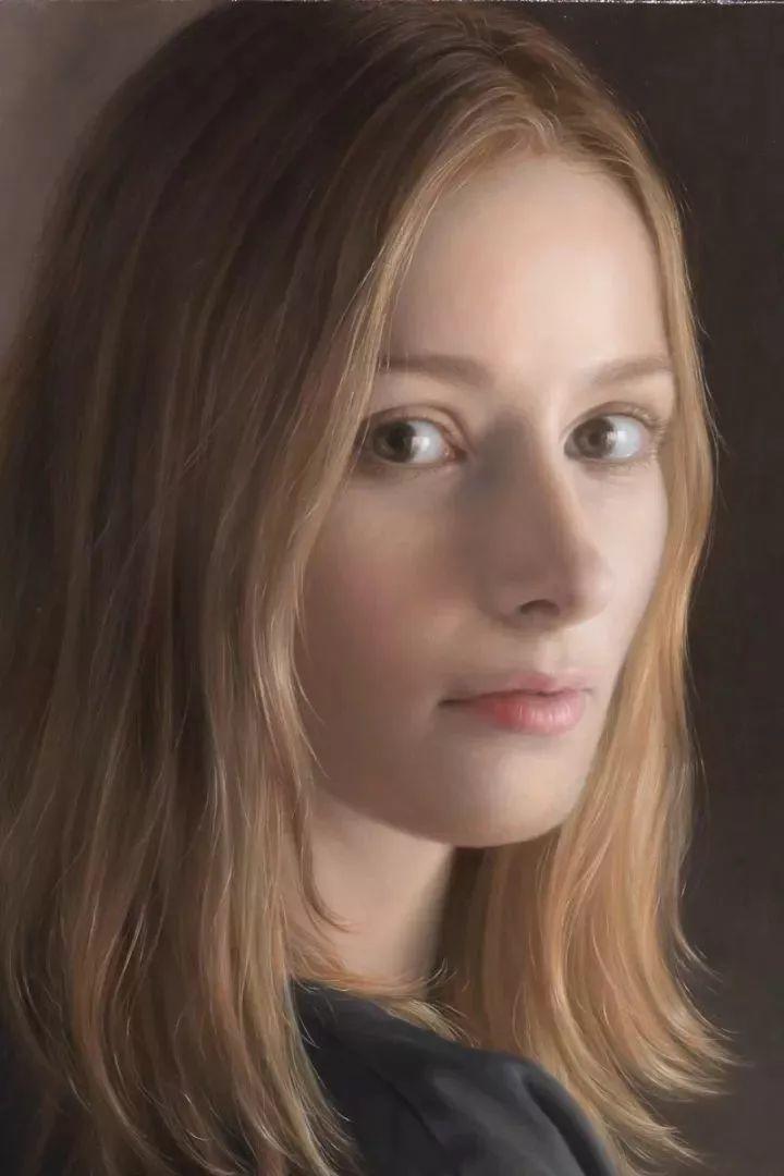 临摹学习达芬奇精华,古典技法画美女,太美了插图31