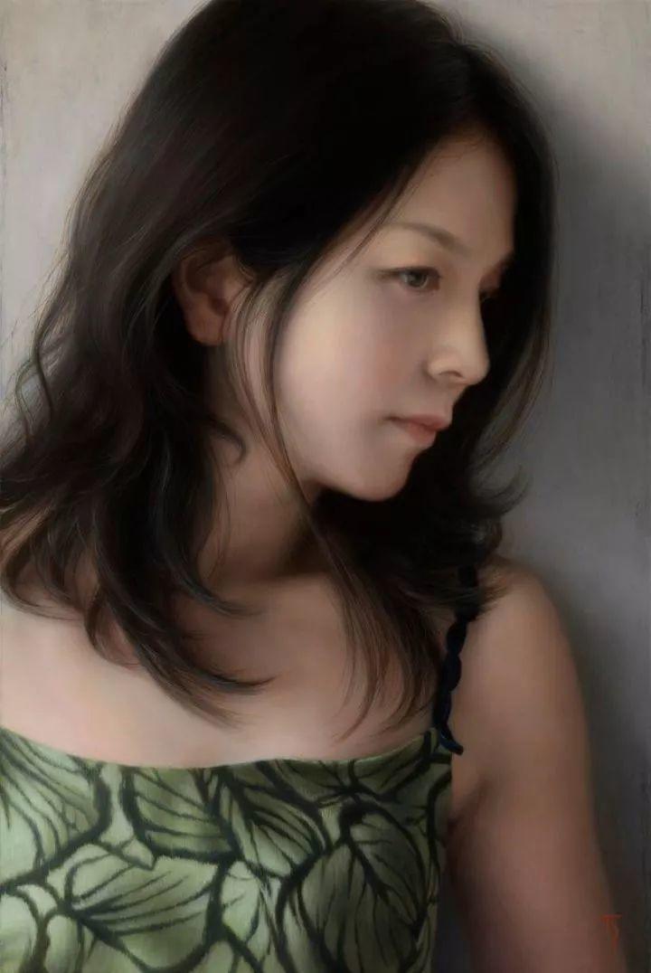临摹学习达芬奇精华,古典技法画美女,太美了插图33