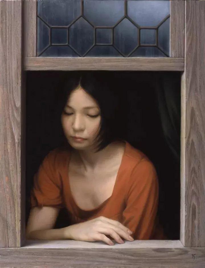 临摹学习达芬奇精华,古典技法画美女,太美了插图35