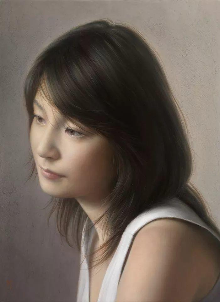 临摹学习达芬奇精华,古典技法画美女,太美了插图49