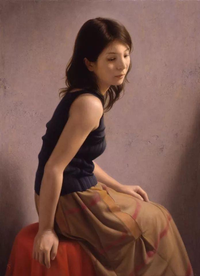 临摹学习达芬奇精华,古典技法画美女,太美了插图51