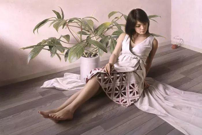 临摹学习达芬奇精华,古典技法画美女,太美了插图65