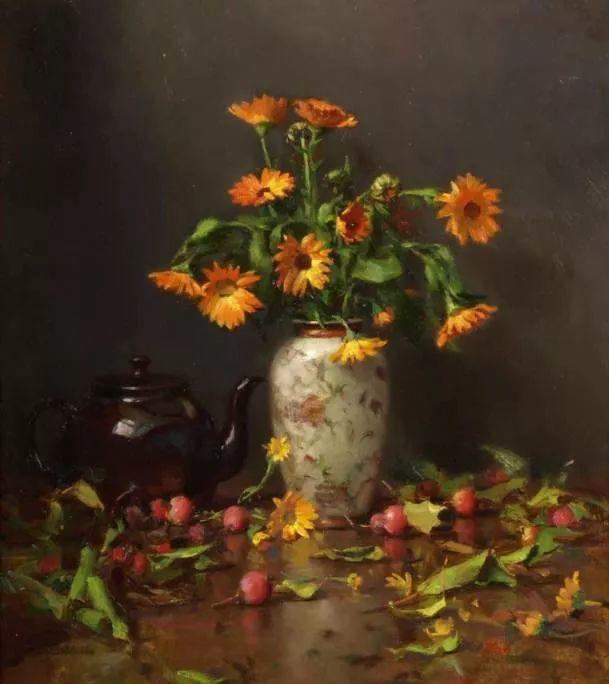 精美静物花卉——美国Delbert Gish插图5