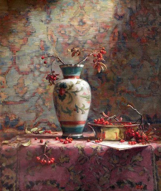 精美静物花卉——美国Delbert Gish插图13