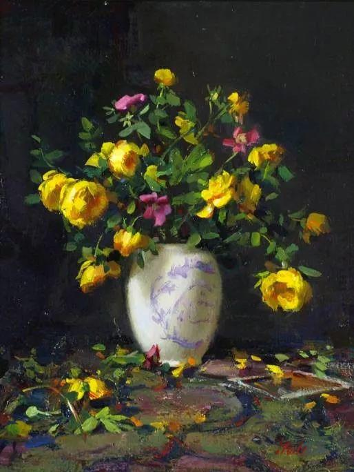 精美静物花卉——美国Delbert Gish插图35