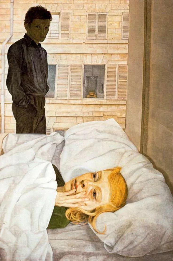 他见一个爱一个画一个,白床上人体拍近2亿元插图22
