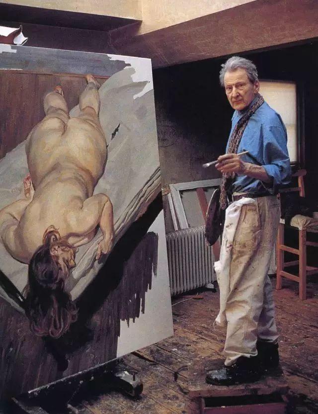 他见一个爱一个画一个,白床上人体拍近2亿元插图43