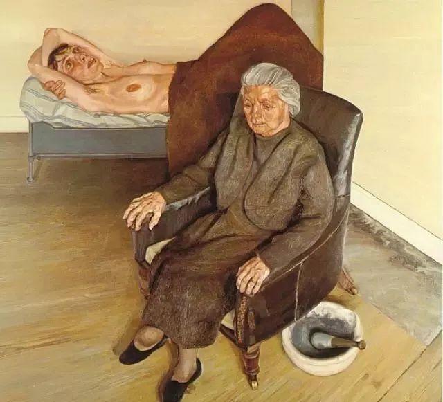 他见一个爱一个画一个,白床上人体拍近2亿元插图60