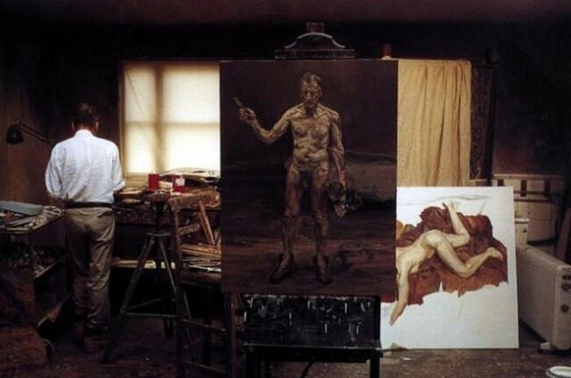 他见一个爱一个画一个,白床上人体拍近2亿元插图61