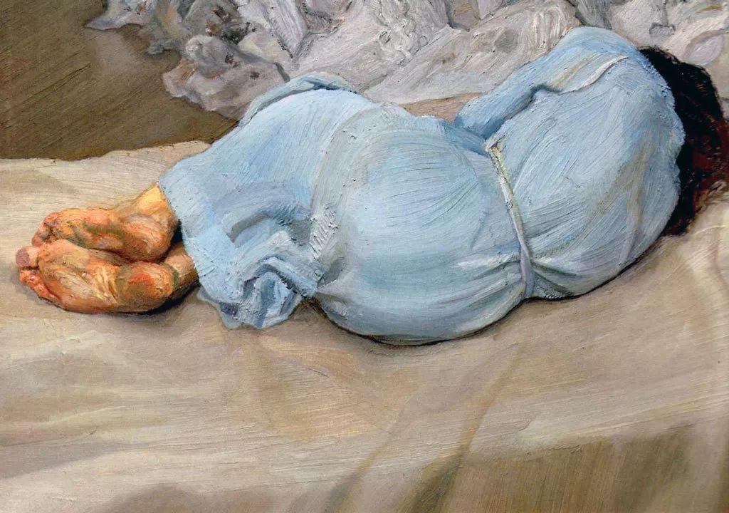 他见一个爱一个画一个,白床上人体拍近2亿元插图66