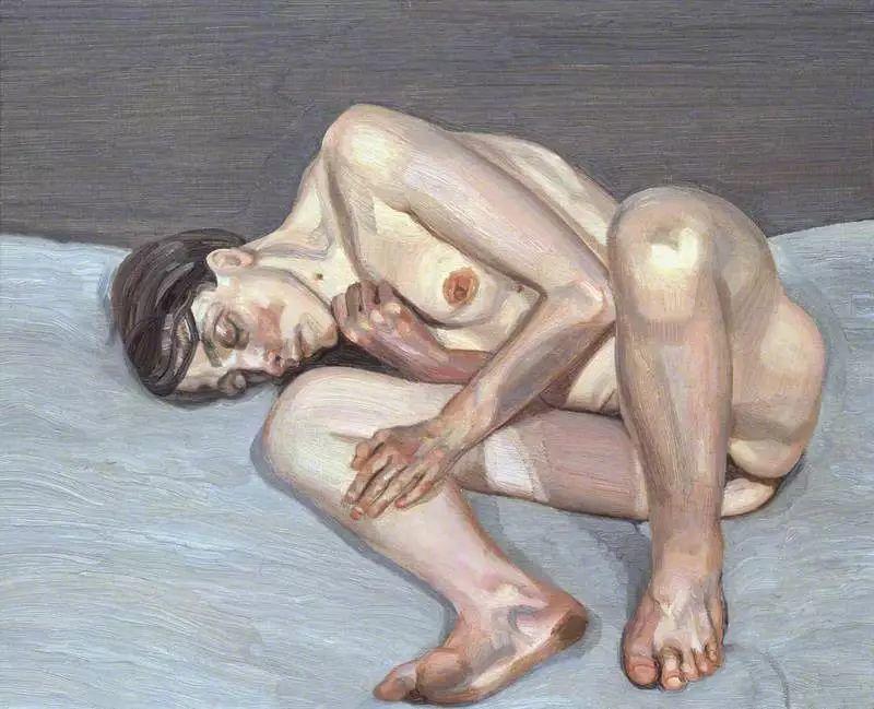 他见一个爱一个画一个,白床上人体拍近2亿元插图70