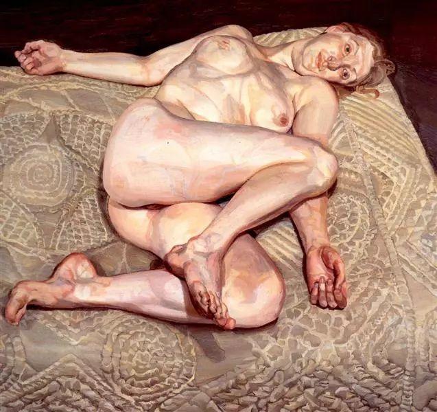 他见一个爱一个画一个,白床上人体拍近2亿元插图72
