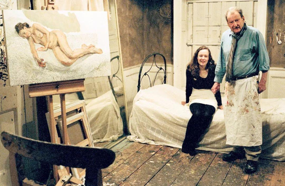 他见一个爱一个画一个,白床上人体拍近2亿元插图100